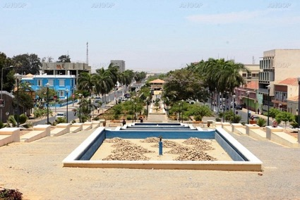 Main Public Square in Namibe 1