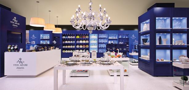 Vista Alegre Shop in Lisbon Colombo Mall 1